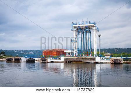 Equipment For Oil Tankers Loading. Black Sea