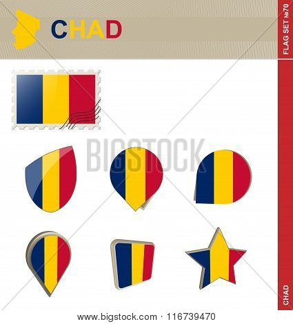 Chad Flag Set, Flag Set #70