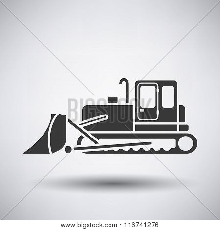 Construction Bulldozer Icon