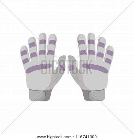 Golf glove cartoon icon