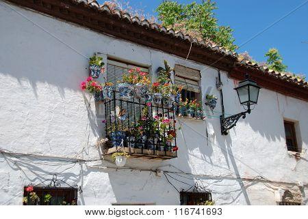 Townhouse in the Albaicin District, Granada.