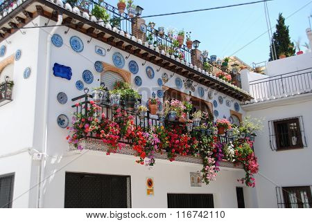 Pretty Spanish townhouse, Granada.