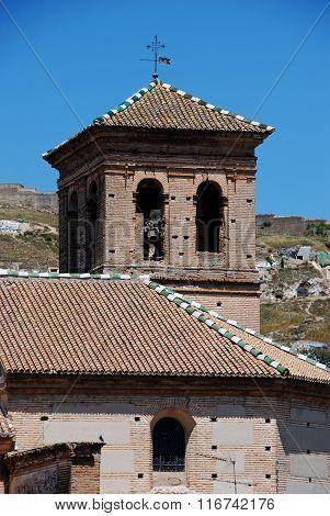 El Salvador Church,Granada.