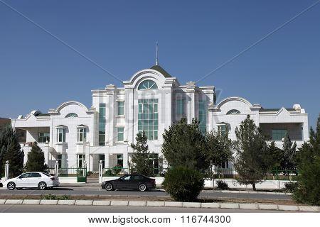 Ashgabat, Turkmenistan - October 19, 2015. The Facility For Preschool Children. In The Kindergarten