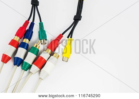 Component Video And Audio Cable