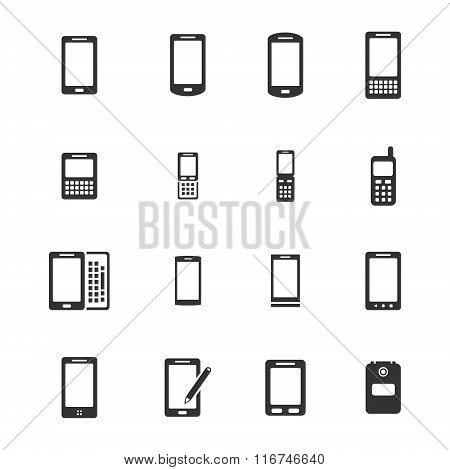 Phones simply icons
