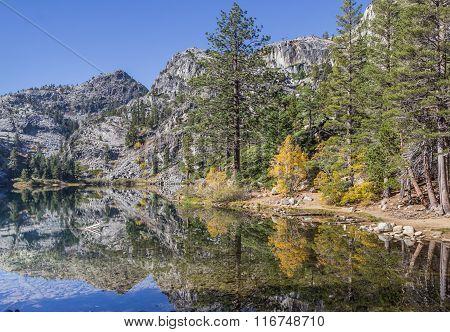 Eagle Lake, California In The Fall
