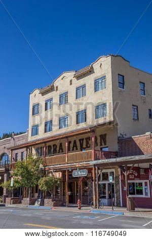 Old Tavern In Main Street Truckee