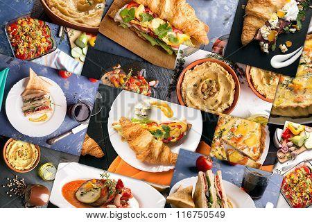 Different European Food