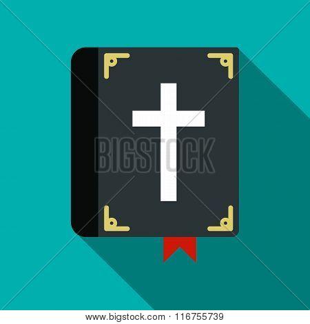 Bible single flat icon