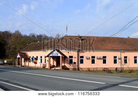 Birzava Village City Hall Editorial