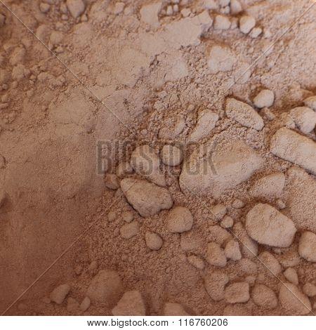 Hot Chocolate or Cocoa Powder Close Up