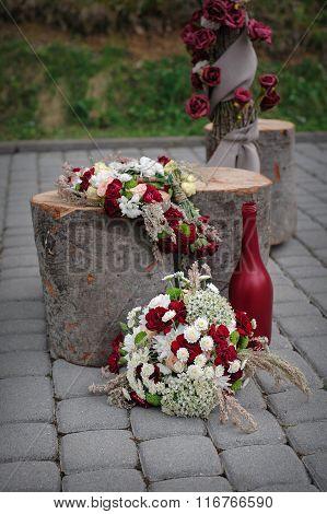 Beautiful Wedding Decor Of Flowers