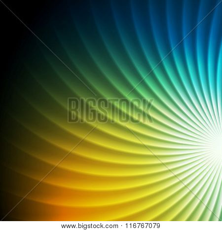 Shiny colorful swirl abstract background