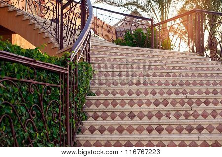 Beautiful Stone Staircase