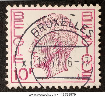 Belgium Postal Stamp