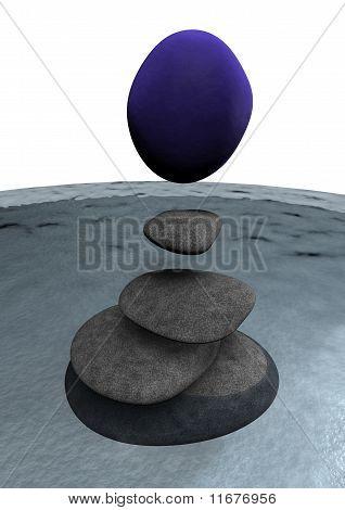 Zen - Balanced Stones