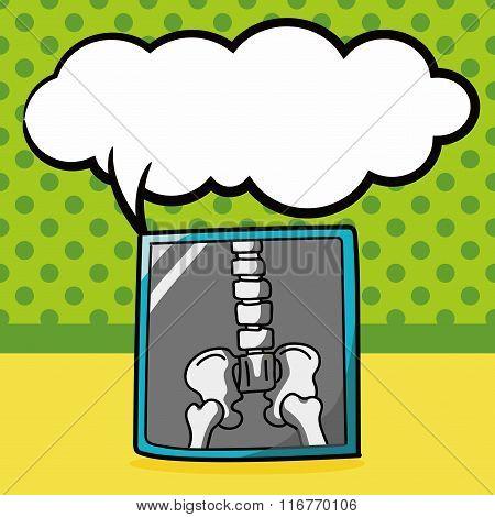 X-ray Bone Color Doodle