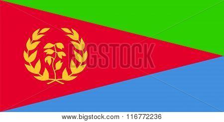 Standard Proportions For Eritrea Flag