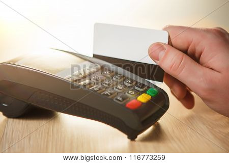 Credit card payment, buy and sell products or service