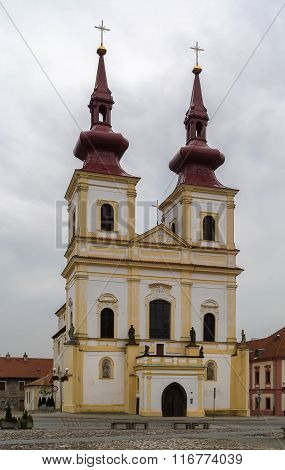 Holy Cross Church, Kadan, Czech Republic