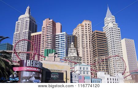 A New York New York Hotel & Casino Shot