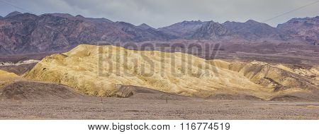 Mustard Canyon In Death Valley National Park