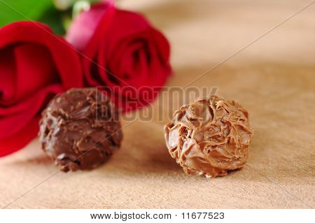 Truffles and Red Roses