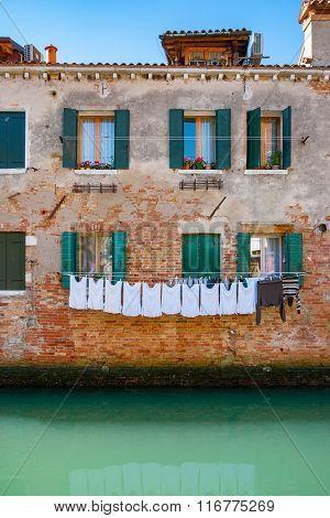 Venice Facade. Italy