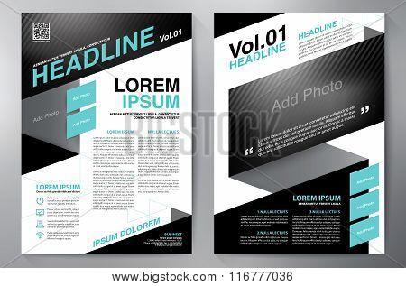 Brochure Design A4 Template.