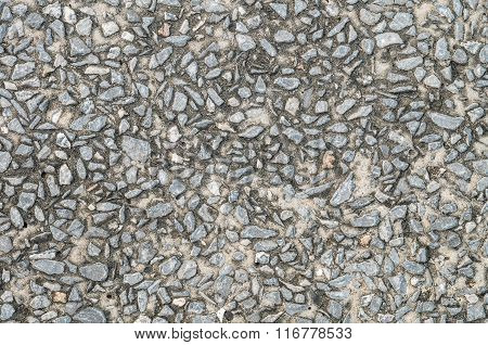 Closeup Old And Dirty Stone Floor Texture Background