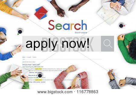 Apply Application Hiring Job Membership Concept