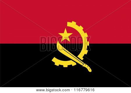 Standard Proportions For Angola Flag