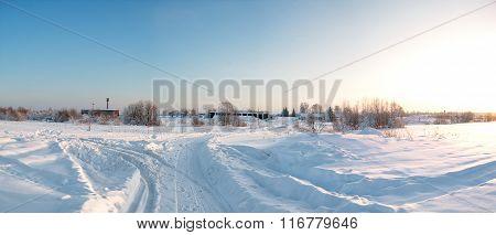 Winter Of Siberia