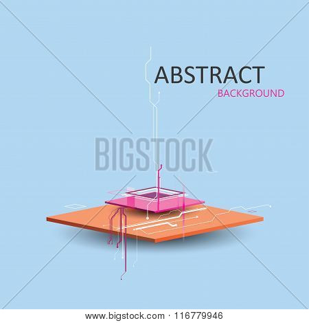 vector geometric abstract background