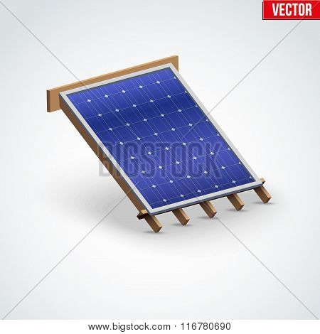 Icon Solar Panel Cover on Roof