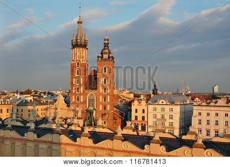 Krakow top view