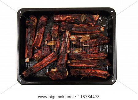 Smoked Pig Ribs