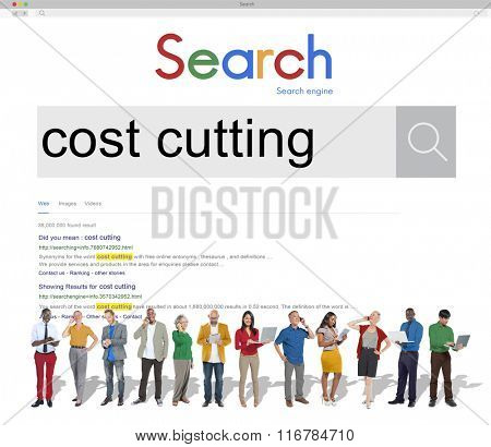 Cost Cuttng Banking Budget Accounting Concept
