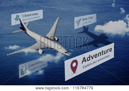 Adventure Trip Journey Expedition Concept