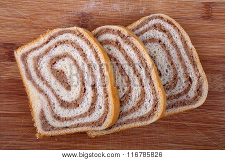 Orehnjaca - Croatian Walnut Strudel. Orehnjaca is a popular Croatian strudel filled with walnuts.