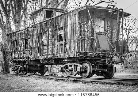 Old Historic Caboose