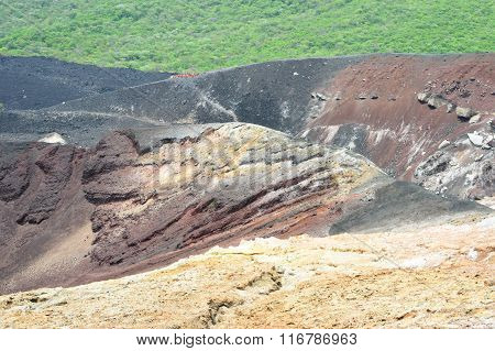 Landscape Around The Cerro Negro Volcano Near Leon In Nicaragua