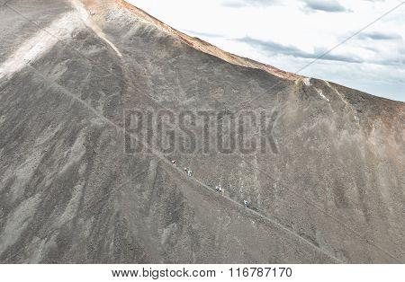 Cerro Negro Volcano Near Leon In Nicaragua