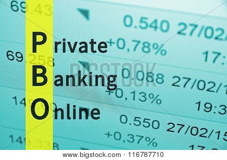 Private Banking Online.