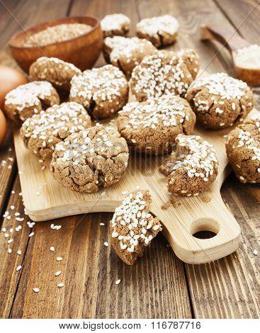 Dietary Buckwheat Cookies