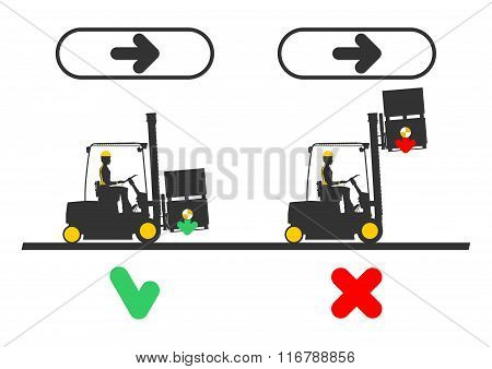 Forklift dangers