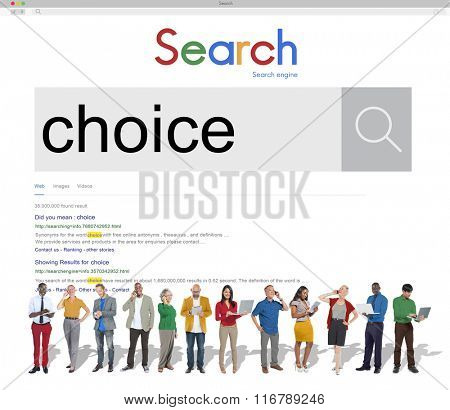 Choice Choosing Decision Selection Concept