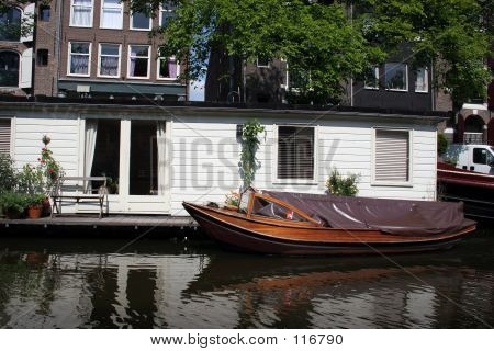 A House Boat, Amsterdam