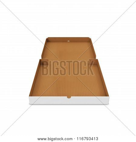 Open pizza box